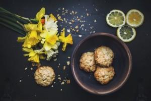 Galletas de Limón y Almendras